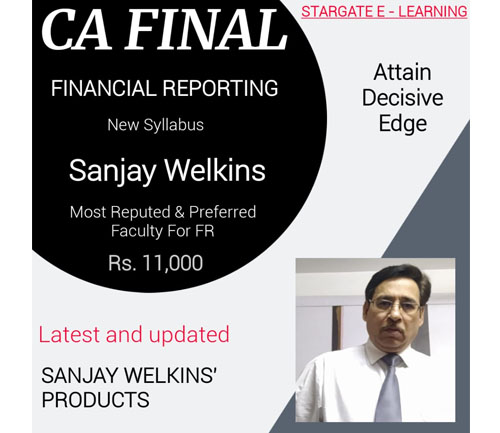 CA FINAL FR BY SANJAY WELKIINS