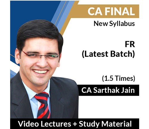 CA Final FR 90 Latest Lectures Completed Batch By Sarthak Jain (New) - Pen Drive & Google Drive