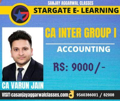 CA Inter Accounting by CA Varun Jain