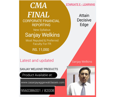CMA FINAL CORPORATE FINANCIAL REPORTING BY SANJAY WELKIINS