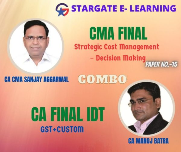 CMA FINAL COMBO & CA FINAL IDT - COMBO OFFER