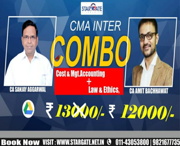 CMA INTER COMBO COST & MGT . ACCOUNTING + LAW & ETHICS