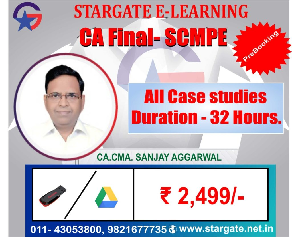 CA FINAL SCMPE ALL CASE STUDIES GOOGLE DRIVE & PEN DRIVE